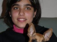 Gómez y su primeta Trini