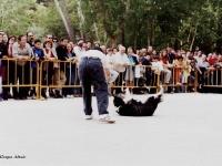 11 Participantes muestran las destrezas de sus animales